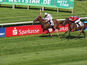 What are the most famous horse-racing tracks in Europe?